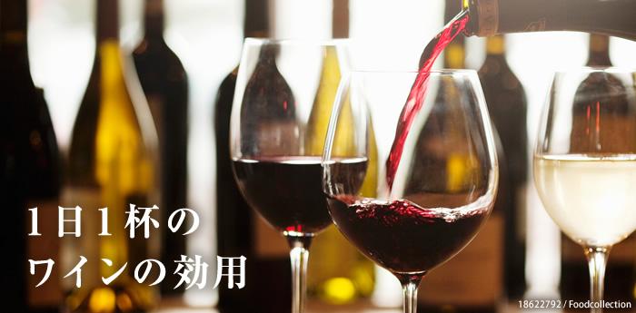 1日1杯のワインの効用